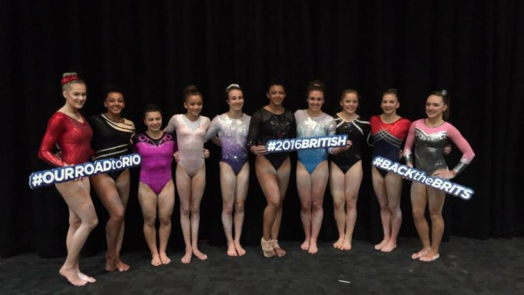Great Britain Gymnastics Team 2016