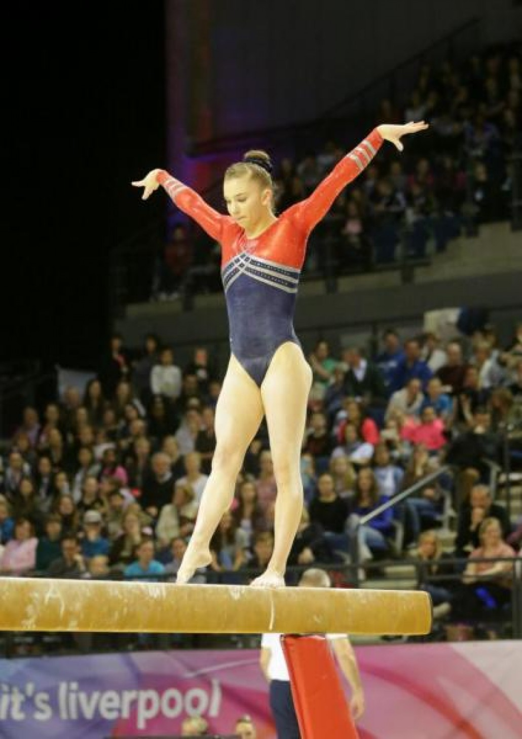 All Around Competition 2016- Beam