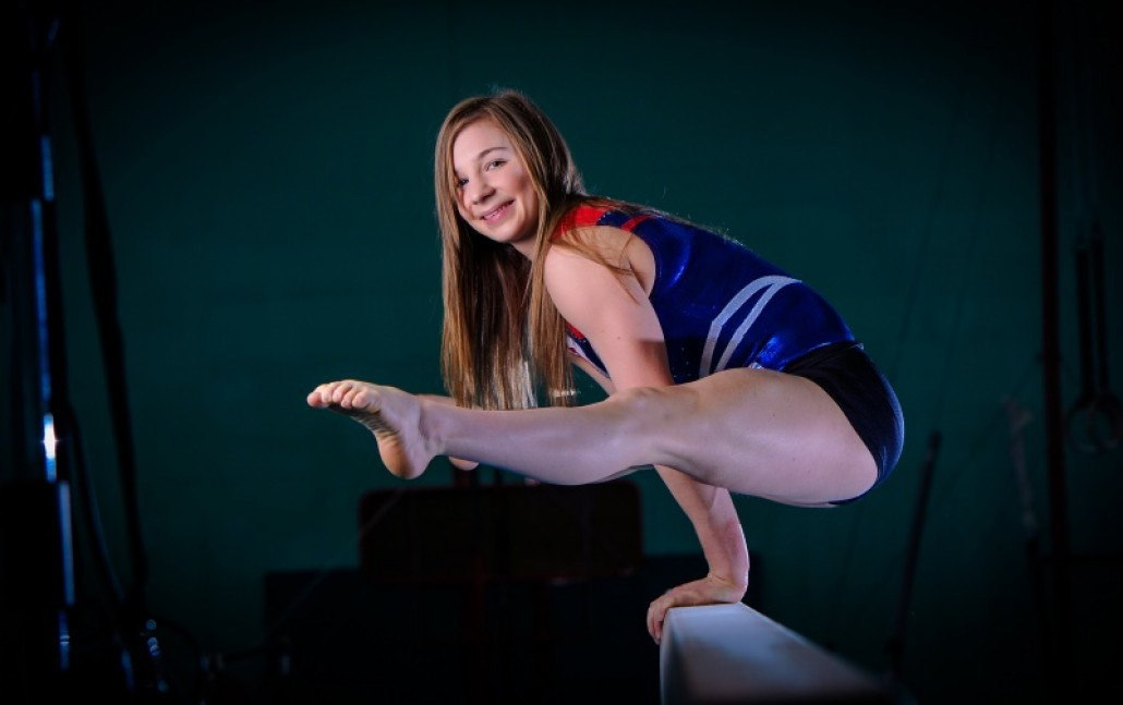 Gymnastics Photoshoot