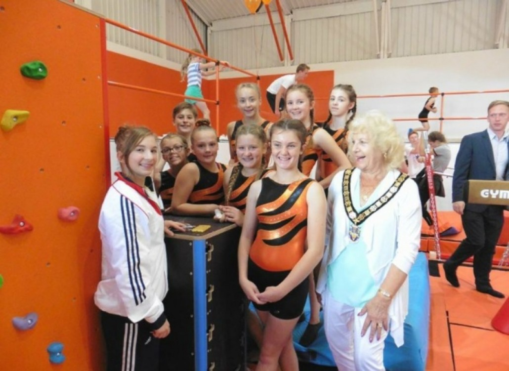 Grand Opening of Regis Gymnastics Centre
