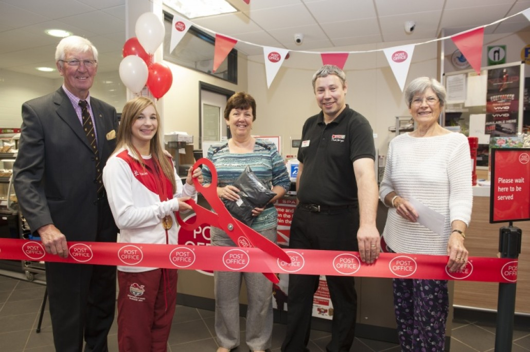 Offical Opening of Horndean Post Office