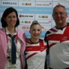 Kelly and Keith with Team GBR Judge