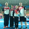 Kelly and Keith with Team GBR Doctor and Physio