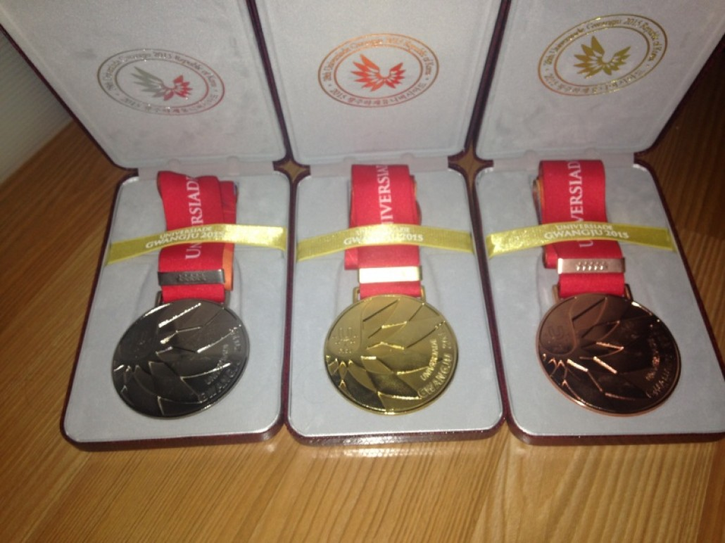 University Games Gold, Silver and Bronze